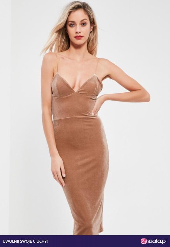 velvet dress r 40 miss guided