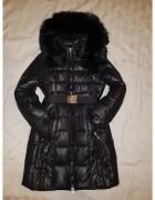 Długa kurtka zimowa xs ciepła