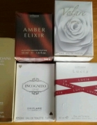 perfumy damskie Oriflame nowe Volare Amber Giordani Gold Lucia Incognito
