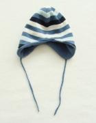 bobo ciepła zimowa gruba czapka w paski 86 96 51