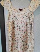 Sukienka tunika w groszki