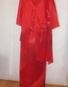 Sukienka z narzutką Rozmiar 54