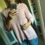Sweter pudrowy różowy bershka...