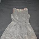 Sukienka S złoto czarna
