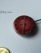 przypinka do butonierki mechanizm zegar steampunk