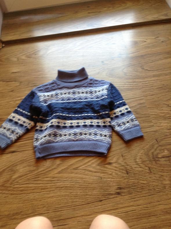 sweter golf chłopięcy 98