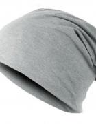 Szara czapka jesien zima blogerska