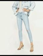 spodnie jeansy zara 34 xs