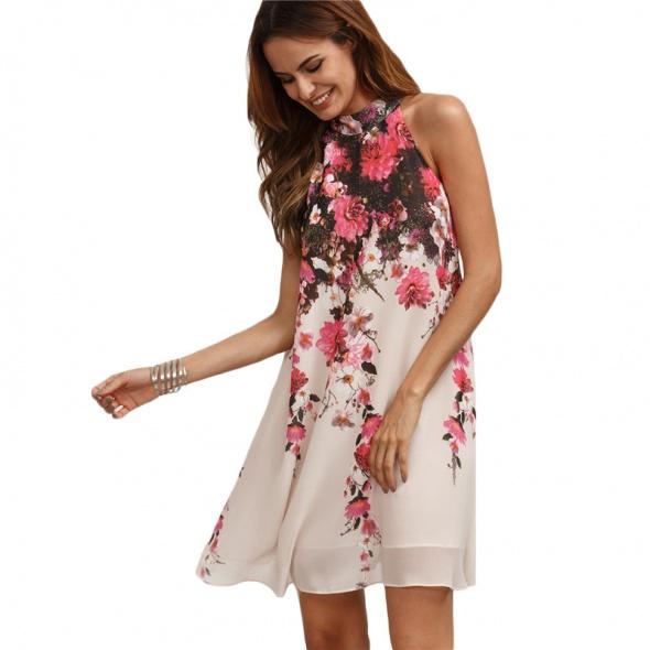Sukienka Multicolor Floral