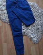 Jeansy rurki z wysokim stanem Pull&Bear...