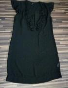 czarna szyfonowa sukienka top shop 40 42...