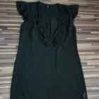 czarna szyfonowa sukienka top shop 40 42