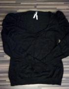 czarny sweterek retro 40 42