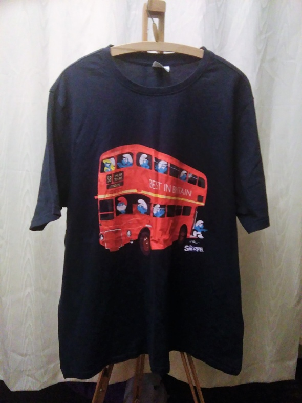 t shirt Smurfs XXL