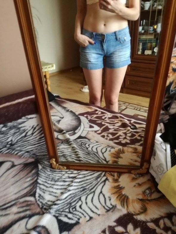 spodenki krótkie jeansowe...