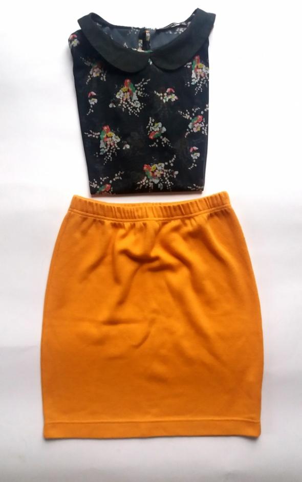 Spódnice Wełniana ołówkowa spódniczka