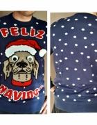 Sweter Świąteczny Dzwoneczki L
