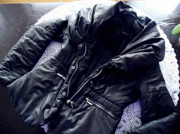 kurtka płaszcz mohito 34 36 kołnierz