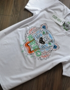 biała koszulka KENZO z tygrysem nowa z metka 38 M...