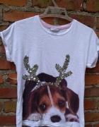 koszulka z psem