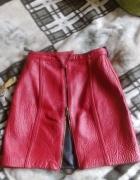 Skórzana spodniczka S M