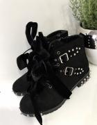 Czarne botki nowe