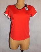 Czerwona sportowa koszulka Head Nowa z metką 38