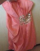różowa sukienka 38