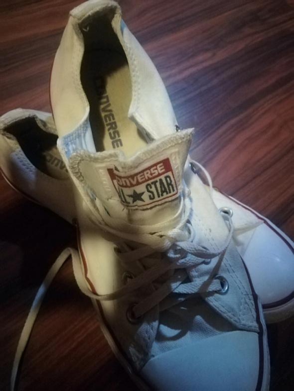 Converse białe krótkie rozmiar 40