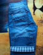 Męskie spodenki jeans