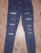 Topshop high waist jeans W28L32