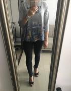 Bluza rozkloszowana