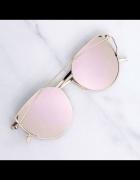 Najmodniejsze okulary z rozowymi szklami