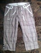 VERO MODA krata spodnie M