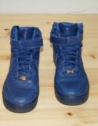 Niebieskie buty Nike Air Force...