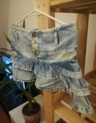 Spódniczka Pull&Bear jeans rozmiar S...