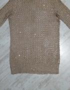 Sweterek mohito ażurkowy