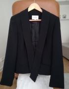 Next żakiet marynarka casual elegancki czarny stylowy taliowany...