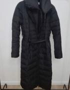 długi płaszcz xs s zimowy