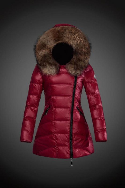 moncler kurtka czerwona