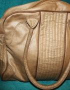 Brązowa torebka promod A4...