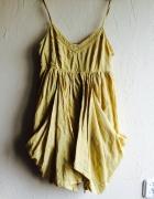Żółta sukienka Next S M