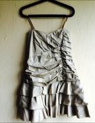 Falbaniasta sukienka S M