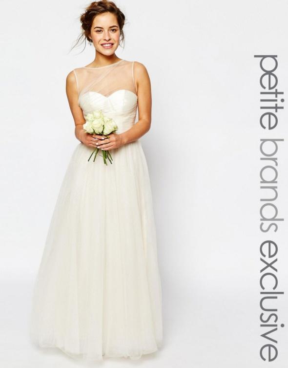 Suknia ślubna Tiul Biała Chi Chi London Tiulowa W Suknie ślubne