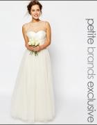 suknia ślubna tiul biała chi chi london tiulowa