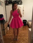 Neonowa sukienka emu...