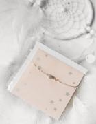 I am bransoletka z pocztówką NOWA święta prezent