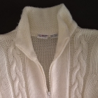 Bon Prix długi kremowy sweter