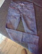 spodnie maziaje rurki rozm S
