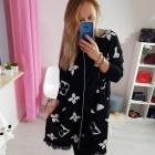 Sweter narzuta black